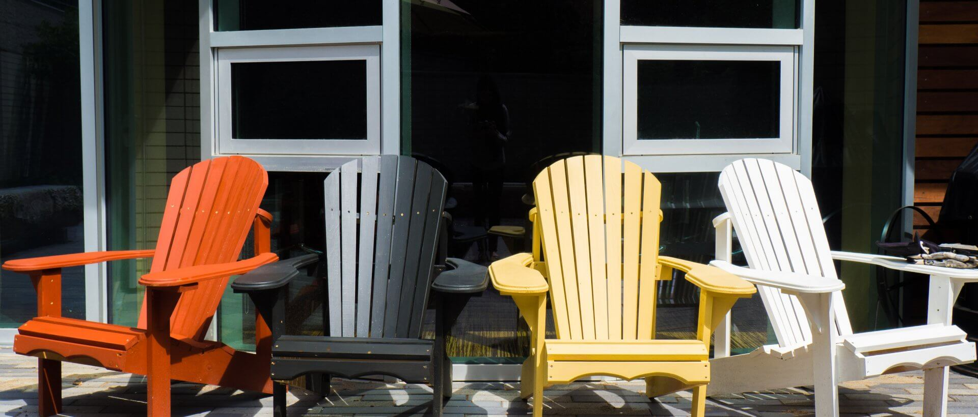 Chairs on the Indigenous Student Services patio